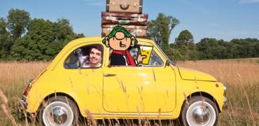 Teikneseriehovudstaden 72: Road Trip med Andy Capp