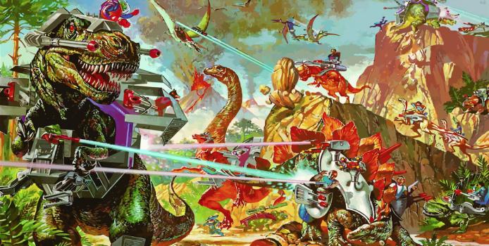 Rad Crew Neon S05E01: Hva drepte dinosaurene?