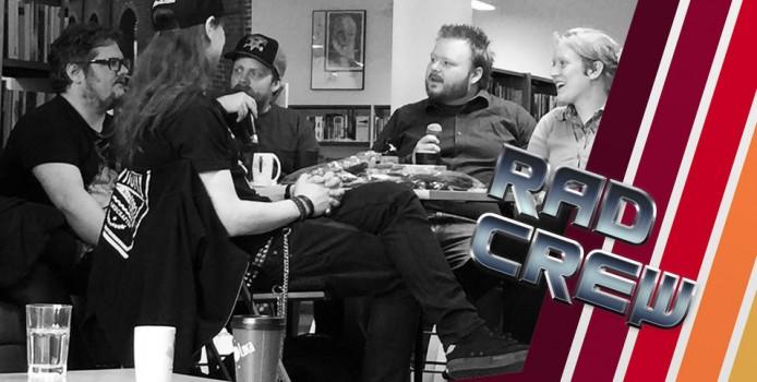 RAD CREW S09E19: Live fra Sandnes Bibliotek