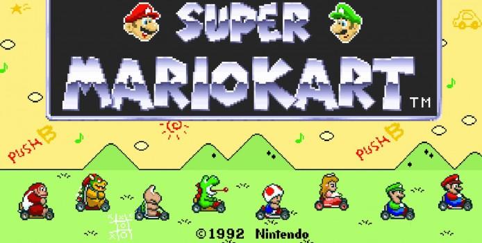 Neste spillklubb: Super Mario Kart